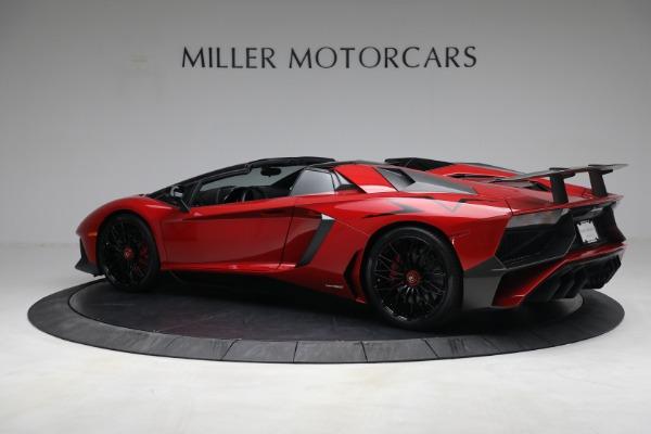 Used 2017 Lamborghini Aventador LP 750-4 SV for sale $599,900 at Alfa Romeo of Greenwich in Greenwich CT 06830 4