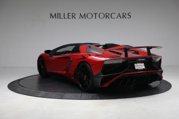 Used 2017 Lamborghini Aventador LP 750-4 SV for sale $599,900 at Alfa Romeo of Greenwich in Greenwich CT 06830 5