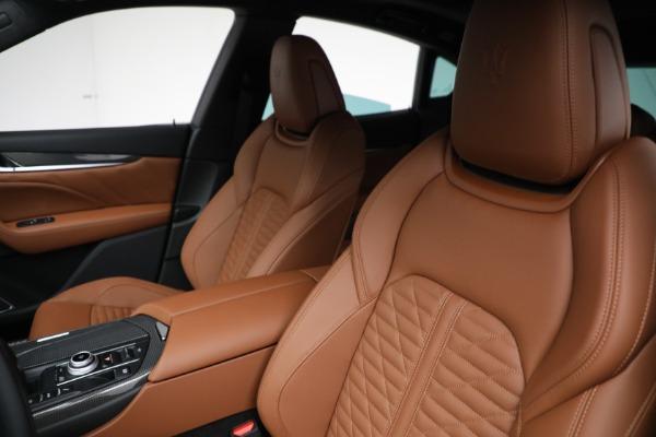 New 2021 Maserati Levante S GranSport for sale $112,899 at Alfa Romeo of Greenwich in Greenwich CT 06830 15