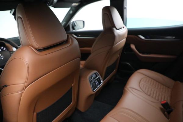 New 2021 Maserati Levante S GranSport for sale $112,899 at Alfa Romeo of Greenwich in Greenwich CT 06830 17