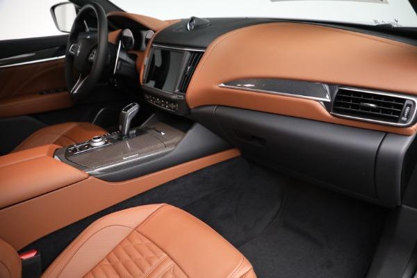 New 2021 Maserati Levante S GranSport for sale $112,899 at Alfa Romeo of Greenwich in Greenwich CT 06830 19