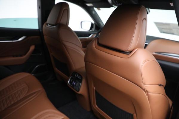 New 2021 Maserati Levante S GranSport for sale $112,899 at Alfa Romeo of Greenwich in Greenwich CT 06830 22