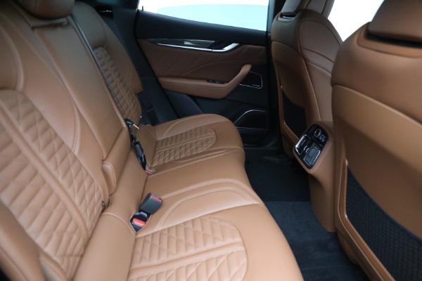 New 2021 Maserati Levante S GranSport for sale $112,899 at Alfa Romeo of Greenwich in Greenwich CT 06830 23