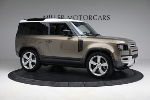Used 2021 Land Rover Defender 90 First Edition for sale $69,900 at Alfa Romeo of Greenwich in Greenwich CT 06830 10