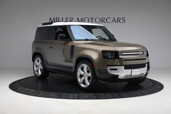 Used 2021 Land Rover Defender 90 First Edition for sale $69,900 at Alfa Romeo of Greenwich in Greenwich CT 06830 11