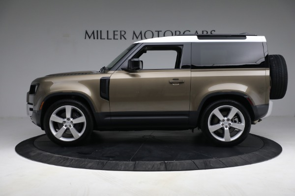 Used 2021 Land Rover Defender 90 First Edition for sale $69,900 at Alfa Romeo of Greenwich in Greenwich CT 06830 13