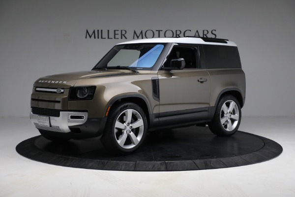 Used 2021 Land Rover Defender 90 First Edition for sale $69,900 at Alfa Romeo of Greenwich in Greenwich CT 06830 2