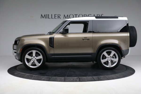 Used 2021 Land Rover Defender 90 First Edition for sale $69,900 at Alfa Romeo of Greenwich in Greenwich CT 06830 3