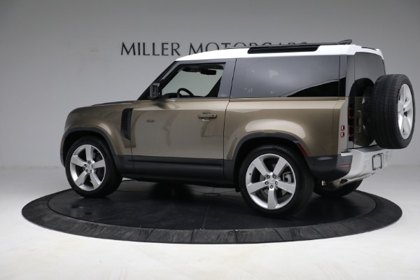 Used 2021 Land Rover Defender 90 First Edition for sale $69,900 at Alfa Romeo of Greenwich in Greenwich CT 06830 4
