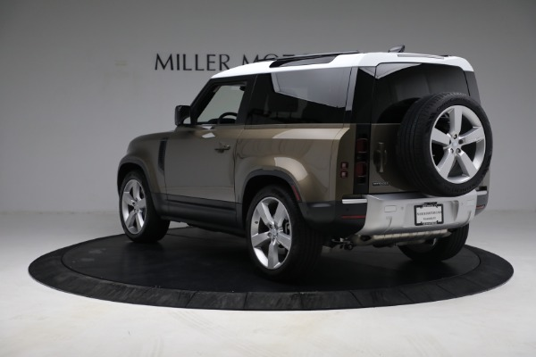 Used 2021 Land Rover Defender 90 First Edition for sale $69,900 at Alfa Romeo of Greenwich in Greenwich CT 06830 5