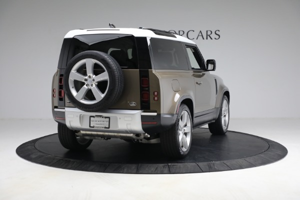 Used 2021 Land Rover Defender 90 First Edition for sale $69,900 at Alfa Romeo of Greenwich in Greenwich CT 06830 7