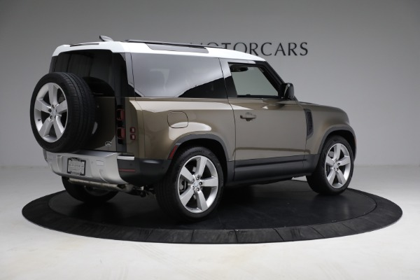 Used 2021 Land Rover Defender 90 First Edition for sale $69,900 at Alfa Romeo of Greenwich in Greenwich CT 06830 8