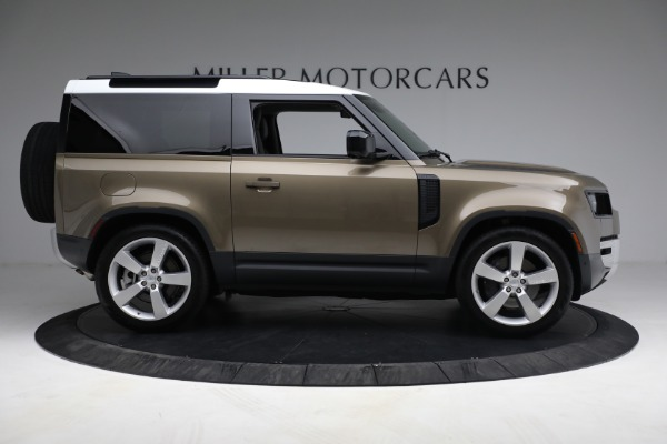 Used 2021 Land Rover Defender 90 First Edition for sale $69,900 at Alfa Romeo of Greenwich in Greenwich CT 06830 9