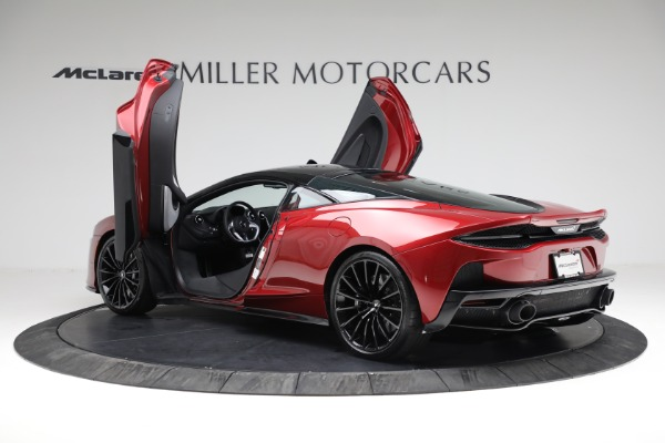 New 2021 McLaren GT for sale $217,275 at Alfa Romeo of Greenwich in Greenwich CT 06830 15