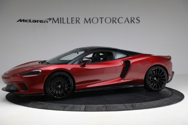 New 2021 McLaren GT for sale $217,275 at Alfa Romeo of Greenwich in Greenwich CT 06830 2