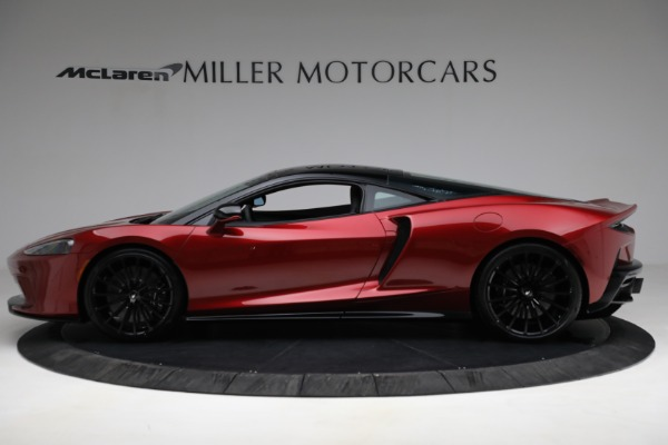 New 2021 McLaren GT for sale $217,275 at Alfa Romeo of Greenwich in Greenwich CT 06830 3