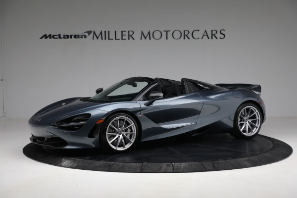 Used 2020 McLaren 720S Spider for sale $334,900 at Alfa Romeo of Greenwich in Greenwich CT 06830 2