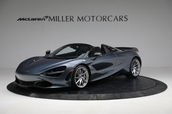 Used 2020 McLaren 720S Spider for sale $334,900 at Alfa Romeo of Greenwich in Greenwich CT 06830 1