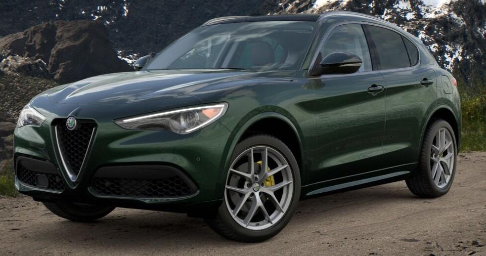 New 2021 Alfa Romeo Stelvio Ti for sale $57,750 at Alfa Romeo of Greenwich in Greenwich CT 06830 1