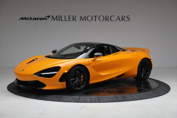 New 2021 McLaren 720S Spider for sale $378,110 at Alfa Romeo of Greenwich in Greenwich CT 06830 15