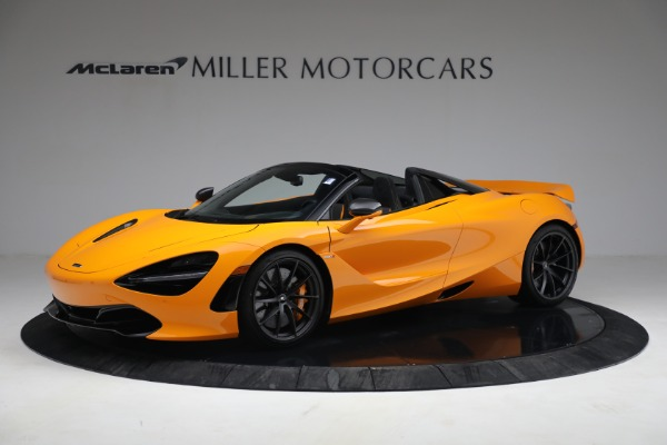 New 2021 McLaren 720S Spider for sale $378,110 at Alfa Romeo of Greenwich in Greenwich CT 06830 2