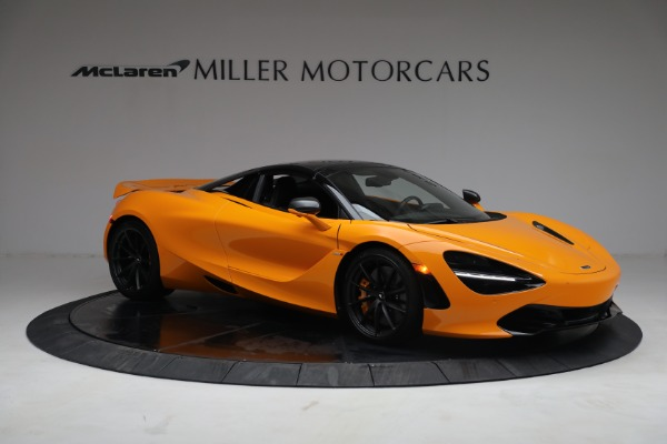 New 2021 McLaren 720S Spider for sale $378,110 at Alfa Romeo of Greenwich in Greenwich CT 06830 21