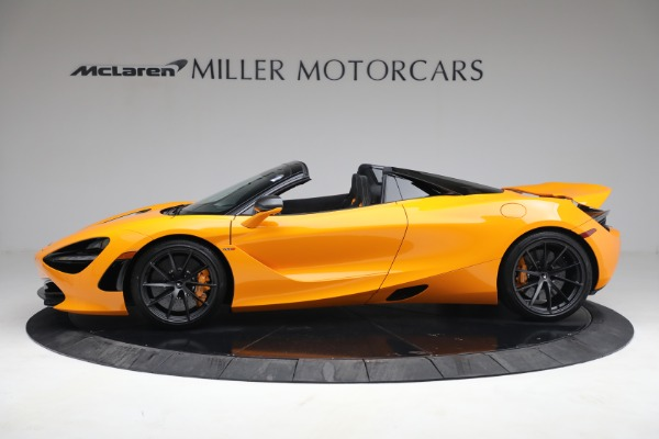 New 2021 McLaren 720S Spider for sale $378,110 at Alfa Romeo of Greenwich in Greenwich CT 06830 3
