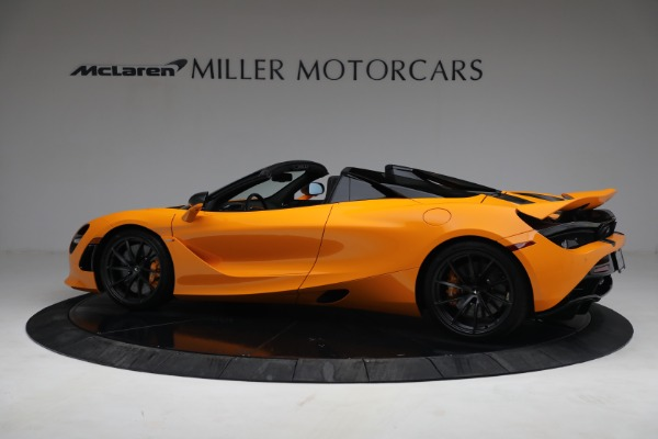 New 2021 McLaren 720S Spider for sale $378,110 at Alfa Romeo of Greenwich in Greenwich CT 06830 4