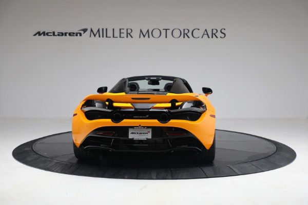 New 2021 McLaren 720S Spider for sale $378,110 at Alfa Romeo of Greenwich in Greenwich CT 06830 6