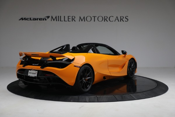 New 2021 McLaren 720S Spider for sale $378,110 at Alfa Romeo of Greenwich in Greenwich CT 06830 7