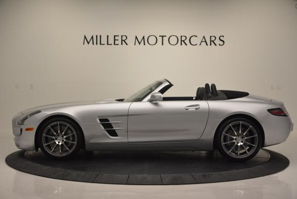 Used 2012 Mercedes Benz SLS AMG for sale Sold at Alfa Romeo of Greenwich in Greenwich CT 06830 3