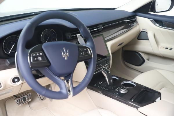 New 2021 Maserati Quattroporte S Q4 GranLusso for sale $126,149 at Alfa Romeo of Greenwich in Greenwich CT 06830 13