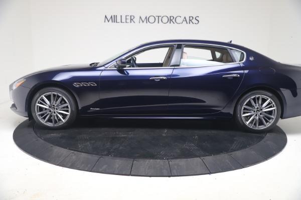 New 2021 Maserati Quattroporte S Q4 GranLusso for sale $126,149 at Alfa Romeo of Greenwich in Greenwich CT 06830 3