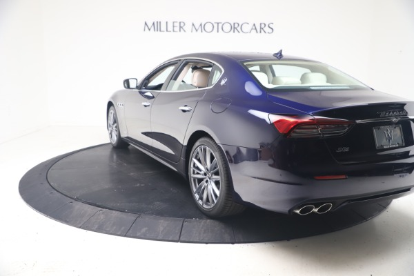 New 2021 Maserati Quattroporte S Q4 GranLusso for sale $126,149 at Alfa Romeo of Greenwich in Greenwich CT 06830 5