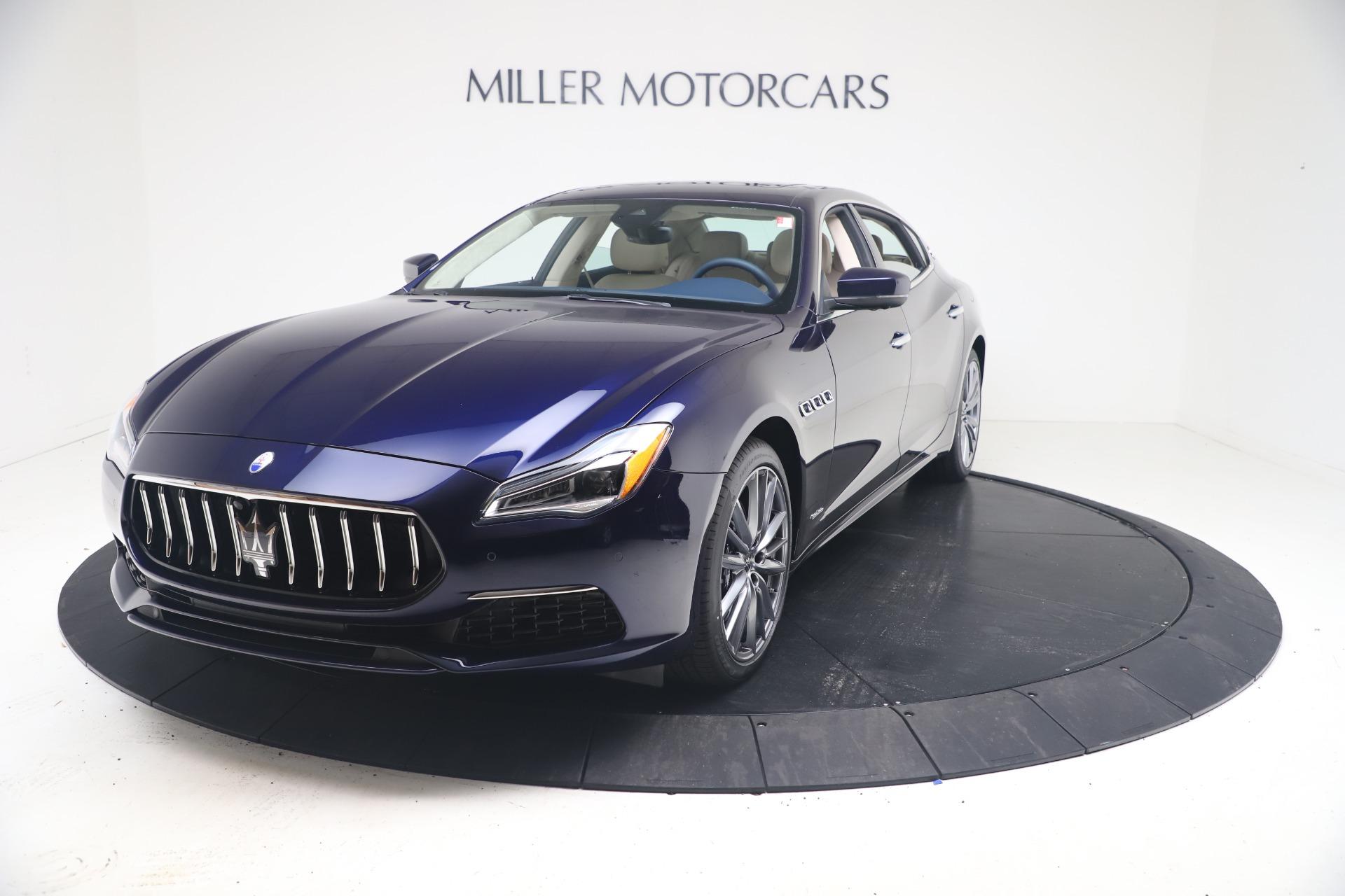 New 2021 Maserati Quattroporte S Q4 GranLusso for sale $126,149 at Alfa Romeo of Greenwich in Greenwich CT 06830 1