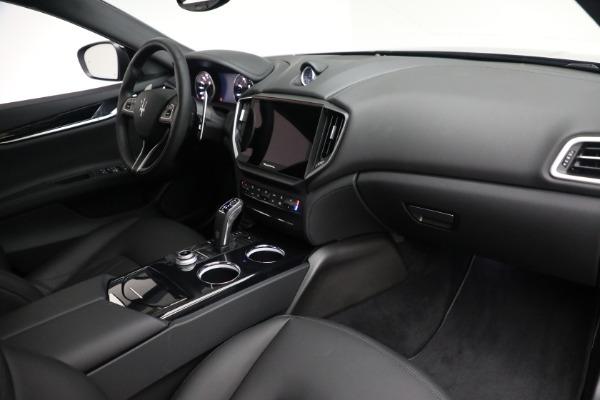 New 2021 Maserati Ghibli SQ4 for sale $92,894 at Alfa Romeo of Greenwich in Greenwich CT 06830 25