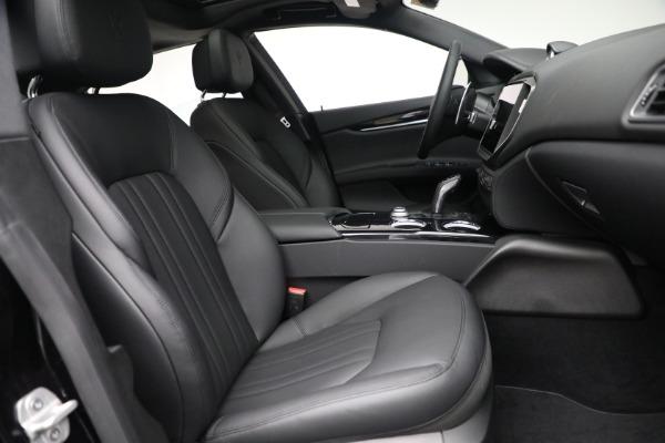 New 2021 Maserati Ghibli SQ4 for sale $92,894 at Alfa Romeo of Greenwich in Greenwich CT 06830 26