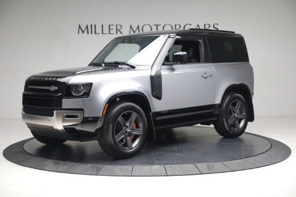 Used 2021 Land Rover Defender 90 X for sale Call for price at Alfa Romeo of Greenwich in Greenwich CT 06830 2