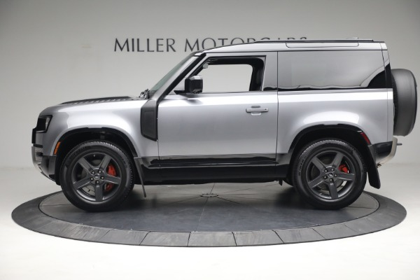 Used 2021 Land Rover Defender 90 X for sale Call for price at Alfa Romeo of Greenwich in Greenwich CT 06830 3