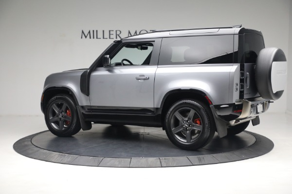 Used 2021 Land Rover Defender 90 X for sale Call for price at Alfa Romeo of Greenwich in Greenwich CT 06830 4