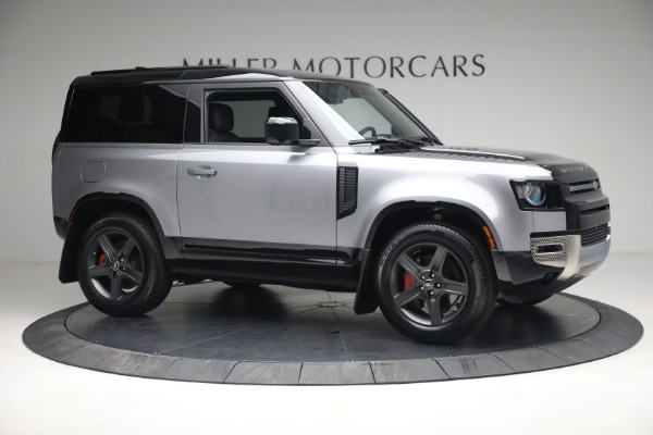 Used 2021 Land Rover Defender 90 X for sale Call for price at Alfa Romeo of Greenwich in Greenwich CT 06830 7