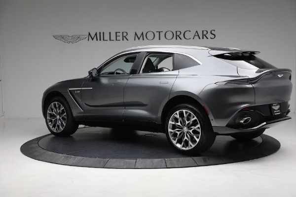 Used 2021 Aston Martin DBX for sale Sold at Alfa Romeo of Greenwich in Greenwich CT 06830 3