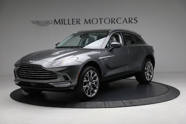 Used 2021 Aston Martin DBX for sale Sold at Alfa Romeo of Greenwich in Greenwich CT 06830 1