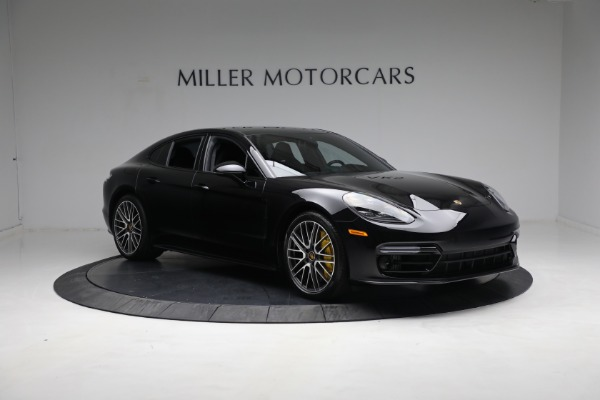 Used 2021 Porsche Panamera Turbo S for sale Call for price at Alfa Romeo of Greenwich in Greenwich CT 06830 10