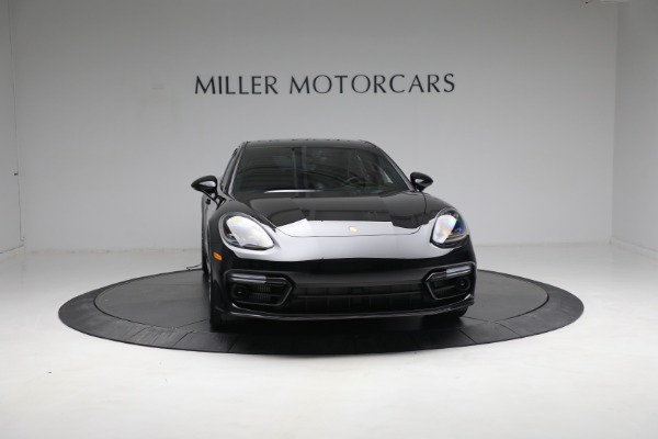 Used 2021 Porsche Panamera Turbo S for sale Call for price at Alfa Romeo of Greenwich in Greenwich CT 06830 11