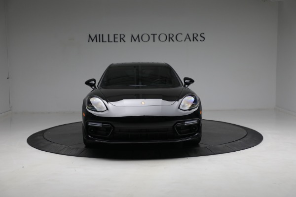 Used 2021 Porsche Panamera Turbo S for sale Call for price at Alfa Romeo of Greenwich in Greenwich CT 06830 12