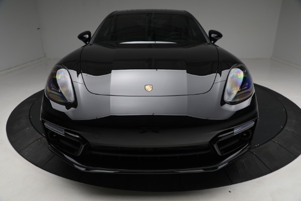 Used 2021 Porsche Panamera Turbo S for sale Call for price at Alfa Romeo of Greenwich in Greenwich CT 06830 13