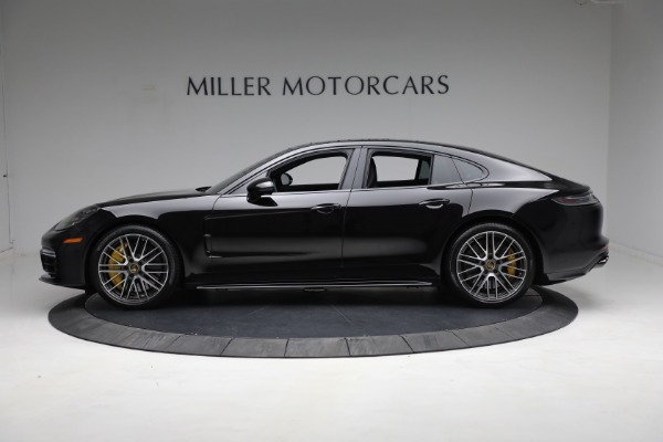 Used 2021 Porsche Panamera Turbo S for sale Call for price at Alfa Romeo of Greenwich in Greenwich CT 06830 2