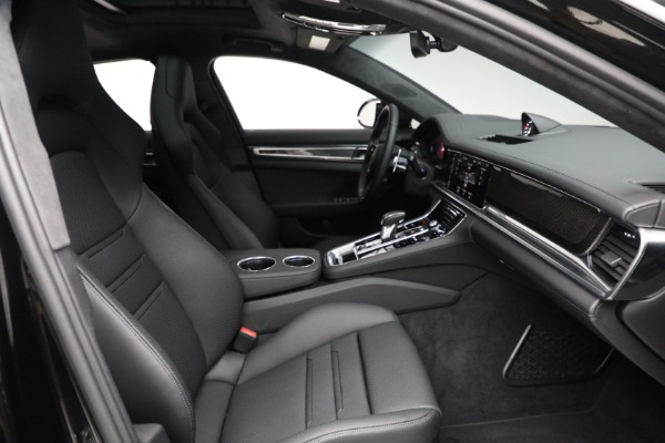 Used 2021 Porsche Panamera Turbo S for sale Call for price at Alfa Romeo of Greenwich in Greenwich CT 06830 27