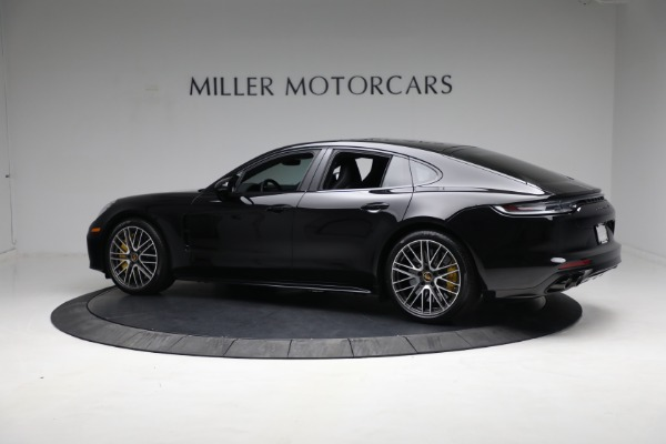 Used 2021 Porsche Panamera Turbo S for sale Call for price at Alfa Romeo of Greenwich in Greenwich CT 06830 3